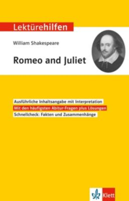 Lektürehilfen William Shakespeare Romeo and Juliet