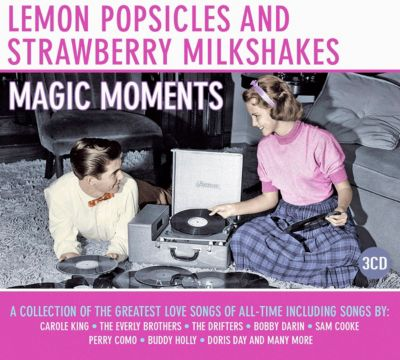 Lemon Popsicles and Strawberry Milkshakes -  Magic Moments, 3 CDs, Diverse Interpreten
