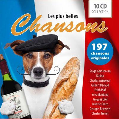 Les Plus Belles Chansons, 10 CDs, Various