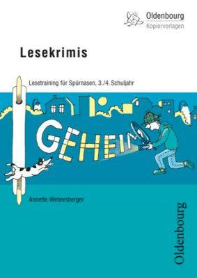Lesekrimis, 3./4. Schuljahr, Annette Webersberger