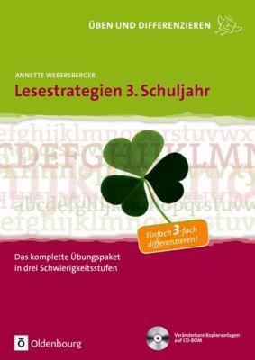 Lesestrategien 3. Schuljahr, m. CD-ROM, Annette Webersberger