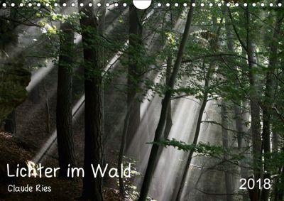 Lichter im Wald (Wandkalender 2018 DIN A4 quer), Claude Ries Luxemburg