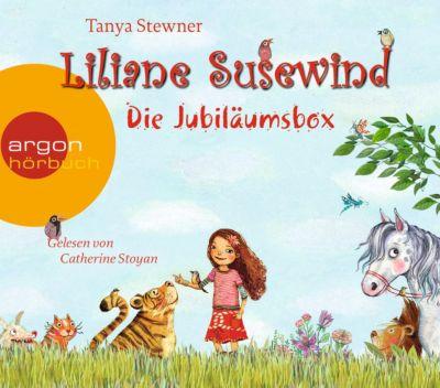 Liliane Susewind - Die Jubiläumsbox, 8 Audio-CDs, Tanya Stewner