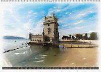 Lissabon l'aquarelle (Wandkalender 2018 DIN A2 quer) - Produktdetailbild 8