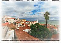 Lissabon l'aquarelle (Wandkalender 2018 DIN A2 quer) - Produktdetailbild 10