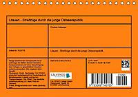 Litauen - Streifzüge durch die junge Ostseerepublik (Tischkalender 2019 DIN A5 quer) - Produktdetailbild 13