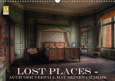 Lost Places - Auch der Verfall hat seinen Charme (Wandkalender 2018 DIN A3 quer), Eleonore Swierczyna