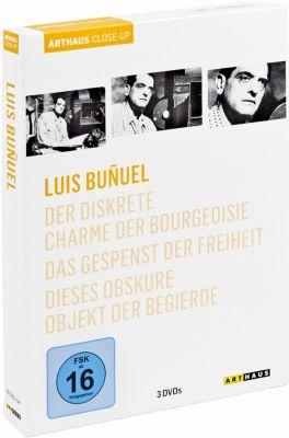 Luis Buñuel, 3 DVDs, Luis Buñuel, Jean-Claude Carrière