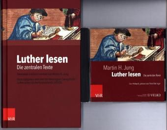 Luther lesen, Buch und Hörbuch, m. MP3-CD, Martin H. Jung