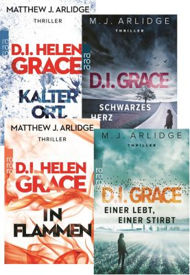 M.J. Arlidge-Krimi-Set, 4 Bände, Matthew J. Arlidge