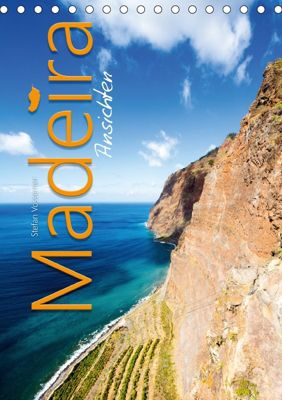 Madeira Ansichten (Tischkalender 2018 DIN A5 hoch), Stefan Vossemer