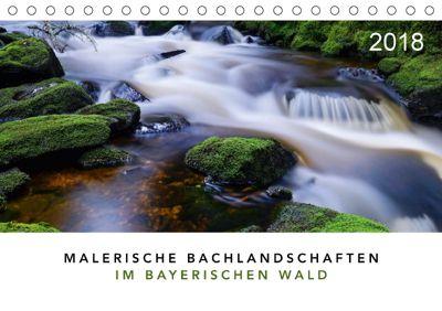 Malerische Bachlandschaften im Bayerischen Wald (Tischkalender 2018 DIN A5 quer), Norbert Maier