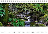 Malerische Bachlandschaften im Bayerischen Wald (Tischkalender 2018 DIN A5 quer) - Produktdetailbild 5