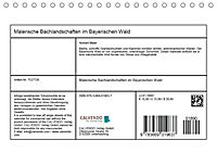 Malerische Bachlandschaften im Bayerischen Wald (Tischkalender 2018 DIN A5 quer) - Produktdetailbild 13