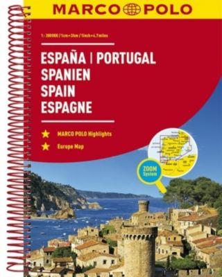 Marco Polo Reiseatlas Espana, Portugal; Spanien, Portugal / Spain, Portugal / Espagne, Portugal