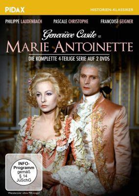Marie Antoinette - Die komplette 4-teilige Serie, Jean Chatenet, Jean Cosmos