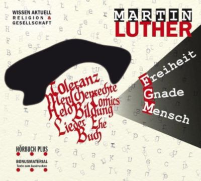 Martin Luther, 1 Audio-CD, Corinna Hesse