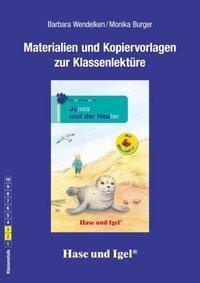 Materialien und Kopiervorlagen zur Klassenlektüre: Jonas und der Heuler / Silbenhilfe, Barbara Wendelken, Monika Burger