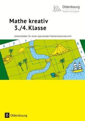 Mathe kreativ, 3./4. Klasse, Eva-Maria Bablick, Michael Tschakert