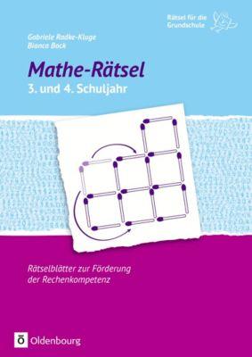 Mathe-Rätsel 3. und 4. Schuljahr, Gabriele Radke-Kluge, Bianca Bock