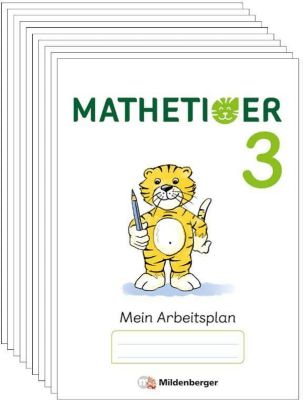 Mathetiger, Neubearbeitung 2016: .3 3. Schuljahr, Arbeitsbeilagen, Thomas Laubis, Eva Schnitzer