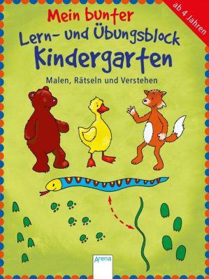 Mein bunter Lern- und Übungsblock Kindergarten, Edith Thabet