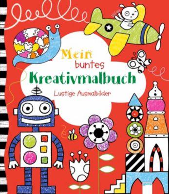 Mein buntes Kreativmalbuch, Anna Milbourne