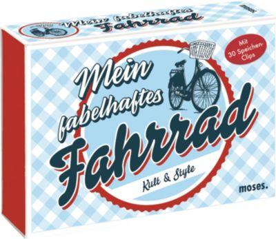 Mein fabelhaftes Fahrrad, m. 30 Speichen-Clips, Ann-Katrin Heger