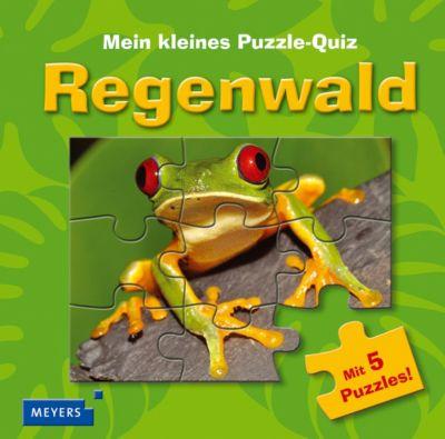 Mein kleines Puzzle-Quiz: Regenwald