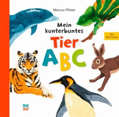 Mein kunterbuntes Tier-ABC, Marcus Pfister