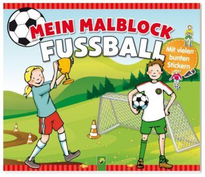 Mein Malblock Fußball