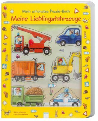 Mein schönstes Puzzle-Buch - Meine Lieblingsfahrzeuge, Sandra Grimm