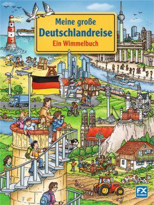 Meine große Deutschlandreise - Ein Wimmelbuch, Stefan Lohr