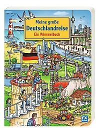 Meine große Deutschlandreise - Ein Wimmelbuch - Produktdetailbild 1