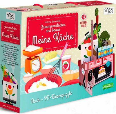 Meine Küche - 3D-Riesenpuzzle + Buch, Milena Zanotelli