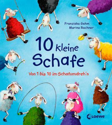 Meine Würfelbox - 10 kleine Schafe, Franziska Gehm