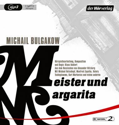 Meister und Margarita, 2 MP3-CD, Michail Bulgakow