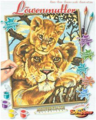 Meisterklasse Klassiker, Malen nach Zahlen (Mal-Sets): Löwenmutter