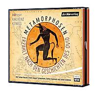 Metamorphosen - Erzählt nach den Geschichten des Ovid, 4 Audio-CDs - Produktdetailbild 1