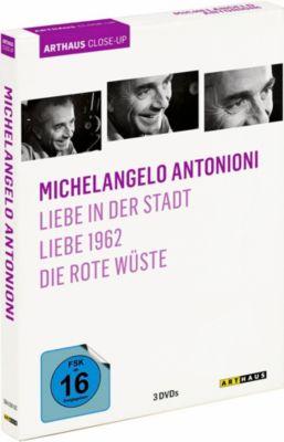 Michelangelo Antonioni, 3 DVD Box, Michelangelo Antonioni, Tonino Guerra, Elio Bartolini, Ottiero Ottieri, Aldo Buzzi, Luigi Chiarini, Federico Fellini, Marco Ferreri, Alberto Lattuada