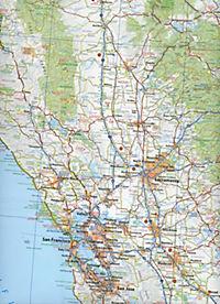 Michelin Karte Californien, Nevada - Produktdetailbild 2