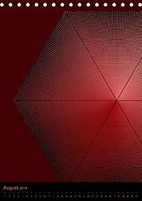 Mikro Kosmische op-Art (Tischkalender 2018 DIN A5 hoch) - Produktdetailbild 8