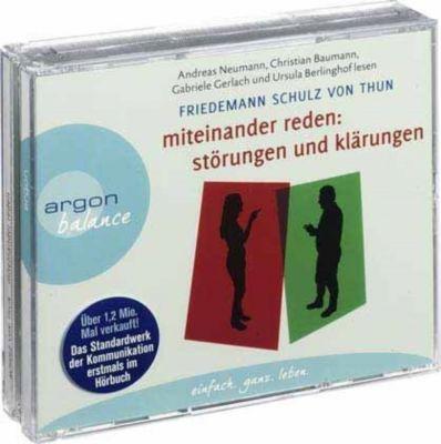 Miteinander reden, 4 Audio-CDs, Friedemann Schulz Von Thun