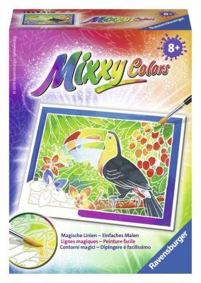 Mixxy Colors, Bildgröße 8,5 x 12 cm: Tukan