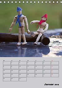 Modellpuppen wie Du und Ich (Tischkalender 2018 DIN A5 hoch) - Produktdetailbild 1