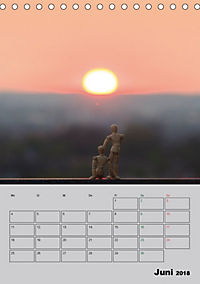 Modellpuppen wie Du und Ich (Tischkalender 2018 DIN A5 hoch) - Produktdetailbild 6