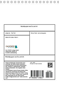 Modellpuppen wie Du und Ich (Tischkalender 2018 DIN A5 hoch) - Produktdetailbild 13
