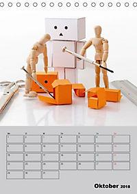 Modellpuppen wie Du und Ich (Tischkalender 2018 DIN A5 hoch) - Produktdetailbild 10