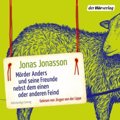 Mörder Anders und seine Freunde nebst dem einen oder anderen Feind, 6 Audio-CDs, Jonas Jonasson