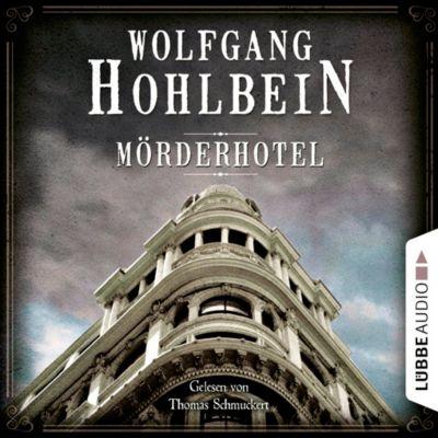 Mörderhotel, 6 Audio-CDs, Wolfgang Hohlbein